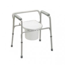 EZ-Care Steel Commode (Case of 4)