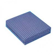 """Wheelchair Cushion with Navy Cover, 16"""" X 18"""" X 4"""" (Each of 1)"""