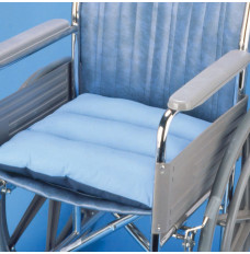 """Total Comfort Chair Cushion with Blue Cover, 18"""" x 16"""" x 3"""" (Each)"""