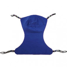 Reliant Full Body Solid Fabric Sling without Commode Opening, Medium, Purple, Polyester/Nylon (Each)