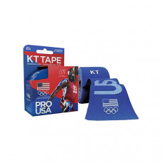 "KT Synthetic Tape Team USA Pro, Blue, 20 2"" x 10"" Strips (Box of 20)"