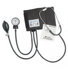 Manual Home Blood Pressure Kit with Attached Stethoscope (Each)