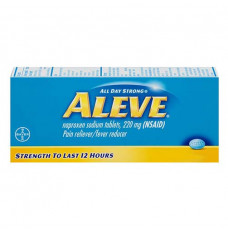 Aleve All Day Strong Pain Reliever, Fever Reducer, Caplets (Each of 1)