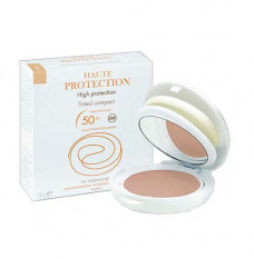High Protection Tinted Compact SPF 50, Honey (Each of 1)