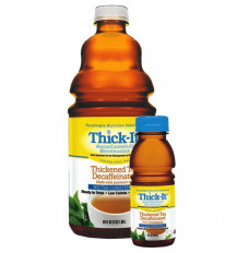 Thick-It AquaCare H20 Thickened Black Tea Ready-to-use Decaffeinated Nectar 8 oz. (Case of 24)