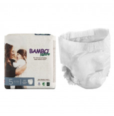 Bambo Nature Training Pants, Size 5, 26-44 lbs. (Case of 100)