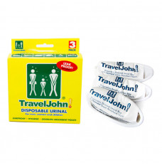 TravelJohn Disposable Urinal, 3-Pack (Package of 3)