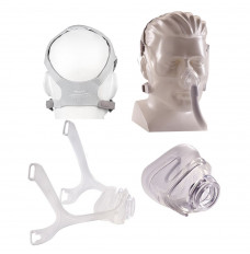 Wisp Nasal Mask with Clear Frame, Petite Cushion and Headgear (Each of 1)