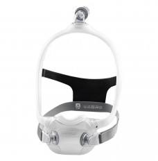 DreamWear Full Face Mask with Large Cushion and Medium Frame with Headgear (Each of 1)