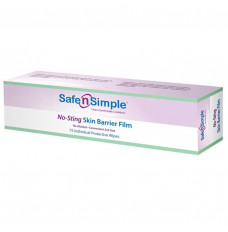 Alcohol Free No Sting Skin Barrier Wipe (Box of 75)