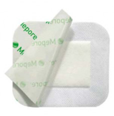 """Mepore Adhesive Absorbent Dressing 2.5"""" x 3"""" (Box of 60)"""