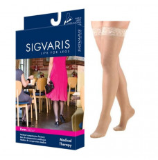 782N Style Sheer Thigh, 20-30mmHg, Women's, Small, Long, Natural (Each of 1)