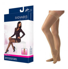 782N Style Sheer Thigh, 20-30mmHg, Women's, Small, Long, Suntan (Each of 1)