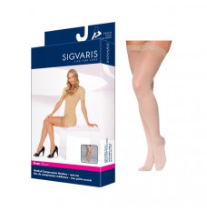 783N Style Sheer Thigh, 30-40mmHg, Women's, Medium, Long, Suntan (Each of 1)