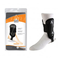 Active Ankle Volt Rigid Ankle Brace, Black, Small (Each of 1)