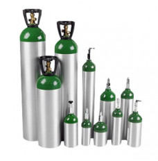 E Oxygen Cylinder with Post Valve 680L Capacity, 111 mm dia. (Case of 6)