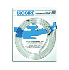 """Sterile Clear-Vinyl Extension Tubing with Adaptor and Cap 9/32"""" I.D. x 60"""" (Each)"""