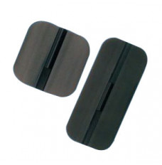 """Specialty Pregelled Carbon Stimulating Electrode 2"""" x 2"""" (Package of 4)"""