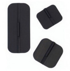 """Specialty Pregelled Carbon Stimulating Electrode with Gel 1-3/4"""" x 4"""" Rectangle (Package of 4)"""