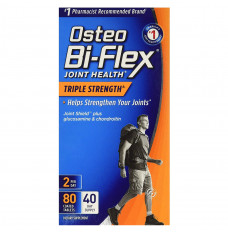 Osteo Bi-Flex Triple Strength Coated Tablets, 80 Ct (Each of 1)