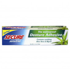Secure Sensitive Denture Adhesive (Case of 12)