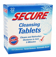 Secure Cleansing Tablets (Case of 12)